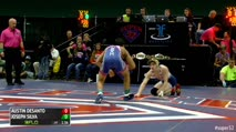 120 Finals Joey Silva (Lake Highland Prep) vs. Austin Desanto (Exeter Township)