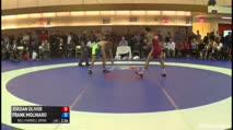 65 Semi-Finals Jordan Oliver (United States) vs. Frank Molinaro (United States)