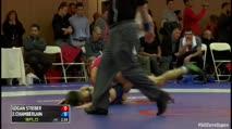 65 Semi-Finals Logan Stieber (United States) vs. Jason Chamberlain (United States)