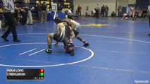 145 Quarter-Finals - Jarod Verkleeren, Belle Vernon vs Mekhi Lewis, Bound Brook - NJ