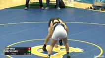 220 Finals - Cody Amos, Cave Spring - VA vs Will Hilliard, Wyoming Seminary