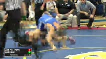126 Finals - Cole Matthews, Reynolds vs Jake Riegel, Wyoming Seminary