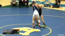 152 Finals - Mason Manville, Wyoming Seminary vs Hayden Hidlay, Mifflin County