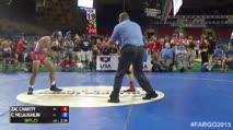 138 Cons. Round 1 Chase Mclaughlin (Iowa) vs. Zac Charity (Nebraska)