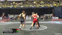 174 Quarter-Finals - Brian Realbuto, Cornell vs Chandler Rogers, Oklahoma State