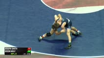 157 Finals - Jason Nolf, Penn State vs Joseph Smith, Unattached