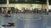 106 Consi of 32 #1 - Nic Bouzakis, FL vs Wyatt Yapoujian, CO
