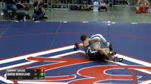 138 Finals - Sammy Sasso, PA vs Jakob Bergeland, MN