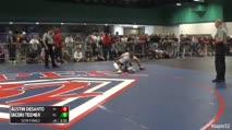 126 Semi-Finals - Austin DeSanto, PA vs Jacori Teemer, NY