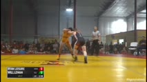152 Finals - Ryan Leisure, Iowa vs Will Lewan, Illinois