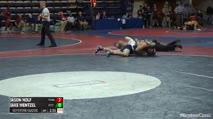 157 Semi-Finals - Jason Nolf, Penn State vs Jake Wentzel, Pitt