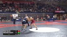 165 Semi-Finals - Chad Walsh, Rider University vs Vincenzo Joseph, Penn State