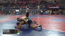 157 Quarter-Finals - Jason Nolf, Penn State vs Zac Carson, Eastern Michigan