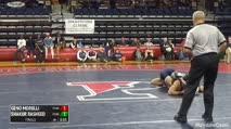 174 Finals - Geno Morelli, Penn State vs Shakur Rasheed, Penn State