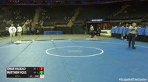 285 Finals - Omar Haddad, Hofstra vs Matthew Voss, George Mason