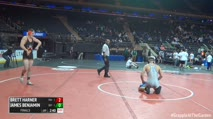 197 Finals - Brett Harner, Princeton vs James Benjamin, Buffalo