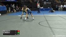 125 Finals - Zeke Beatty, Pitt-Johnstown vs Anthony Sparacio, LIU Post
