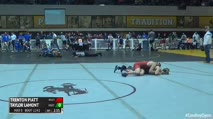 125 Round of 16 - Trenton Piatt, Western State Colorado University vs Taylor LaMont, Unattached
