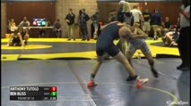 133 Round of 16 - Anthony Tutolo, Kent State - Unattached vs Ben Bliss, Bucknell University