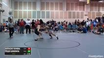 133-O Round of 16 - Anthony Rivera, Edinboro University vs Tyler Goodwin, University Of Maryland