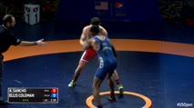 66kg Finals - Alejandro Sancho (NYAC) vs Ellis Coleman (Army WCAP)