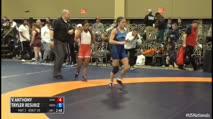 48kg 1/4 Final - Victoria Anthony, Sunkist Kids vs Tayler Resuriz, McKendree Bearcat Wrestling