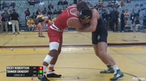197 Consi of 4 - Ricky Robertson, Wisconsin vs Tanner Orndoff, Utah Valley