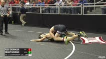 165 Quarter-Finals - Alex Dieringer, Oklahoma State vs Grant Nehring, North Dakota State