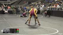 197 Quarter-Finals - Jacob Smith, West Virginia vs Pat Downey, Iowa State