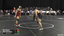 197 Semi-Finals - Pat Downey, Iowa State vs Preston Weigel, Oklahoma State