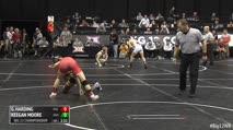 133 Consi-Semis - Keegan Moore, West Virginia vs Gary Wayne Harding, Oklahoma State