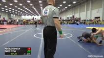 160 Round of 128 - David Flynn, Ny vs Keysean Amison, Oh