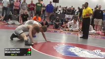 132 3rd Place - Zack Donathan, OH vs Brian Courtney, PA