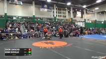 120 Semi-Finals - Jakob Camacho, Danbury vs Adam Busiello, Eastport- S Manor
