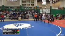 285 3rd Place - Deonte Wilson, Amityville vs Kyle Fitzgerald, South Lewis
