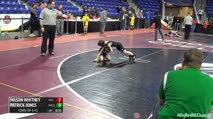 E55 Consi of 8 #1 - Mason Whitney, Colchester CT vs Patrick Jones, Massabesic