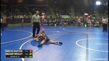 88 Round of 64 - Hunter Worthen, Knights Wrestling Club vs Zachary Wessley, Kansas Young Guns