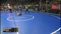 80 Round of 64 - Austin Horton, Texas Best Trained Elite vs Paul Kelly, Sunkist Kids/Monster Garage