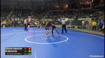 135 Round of 32 - Cougar Andersen, Skiatook Bulldog Wrestling vs Marquis McCaster, Eierman Elite
