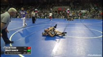 82 Round of 64 - Jacob Mann, Purler Wrestling vs Brady Hankin, Powa