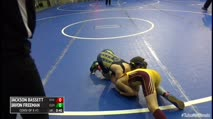 58 Consi of 8 #1 - Jackson Bassett, O Fallon Little Panthers vs Javon Freeman, Cleveland Takedown Club
