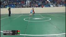 84 Consi-Semis - Lane Wheeler, Glenpool Youth Wrestling vs Nathaniel Ruiz, Wesley Club Wrestling