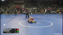 52 Semi-Finals - Keanu Dillard, Red Hawk vs Trenton Richwine, Rose Hill Wrestling Club