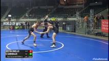130 2nd Place - Justin Onello, East Coast Assassins vs Colton Garibaldi, Big Game Wrestling Club