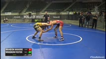 160 2nd Place - Brandon Navarro, Martinez Fox Valley Elite WC vs Woodrow Foster, Fulton Wrestling Club