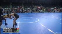 130 3rd Place - Justin Onello, East Coast Assassins vs Elijah Martinez, Espanola Wrestling