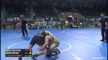 Hwt 3rd Place - Brock Sullivan, MoWest Championship Wrestling Club vs Jacob Sexton, Deer Creek