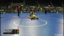 110 3rd Place - Jace Henderson, Maize Wrestling Club vs Draven Woods, ICE Performance
