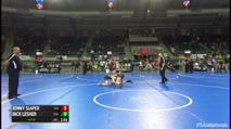 110 Finals - Jonny Slaper, The Wrestling Factory Of Cleveland vs Jack Lesher, Scn