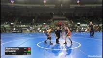 130 Finals - Jacob Navarro, Nbwc vs Gabriel Kaminski, Martinez Fox Valley Elite WC